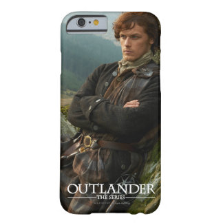Reclining Jamie Fraser photograph Barely There iPhone 6 Case