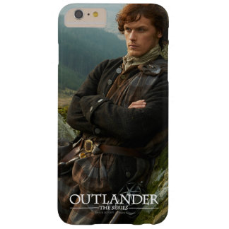 Reclining Jamie Fraser photograph Barely There iPhone 6 Plus Case