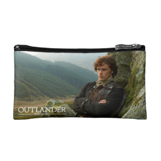 Reclining Jamie Fraser photograph Cosmetic Bags