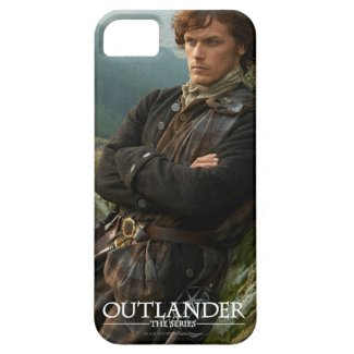 Reclining Jamie Fraser photograph iPhone 5 Cases