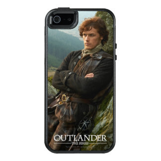 Reclining Jamie Fraser photograph OtterBox iPhone 5/5s/SE Case