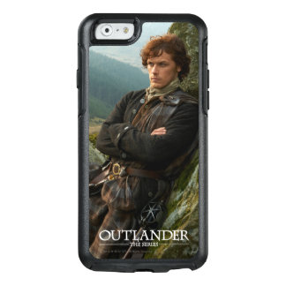 Reclining Jamie Fraser photograph OtterBox iPhone 6/6s Case