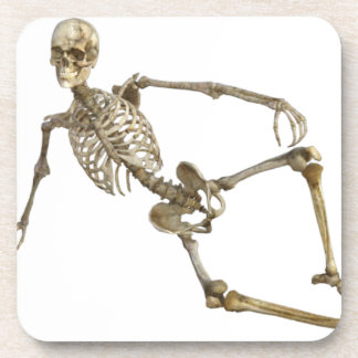 Reclining Skeleton Coaster