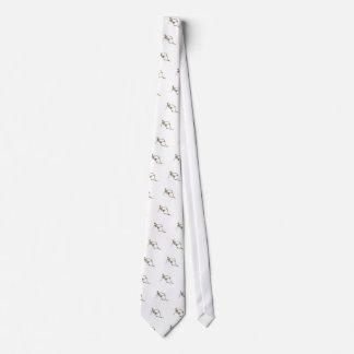 Reclining Skeleton Tie