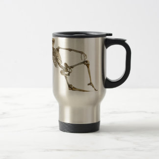 Reclining Skeleton Travel Mug