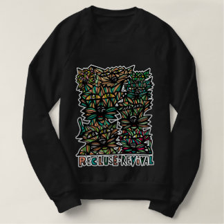 """Recluse Revival"" Men's American Apparel Sweatshir Sweatshirt"
