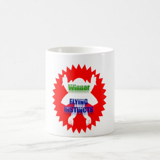 Recognize Excellence : Winner Flying Instincts Coffee Mugs