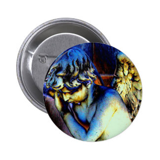 Recoleta Angel Pinback Buttons