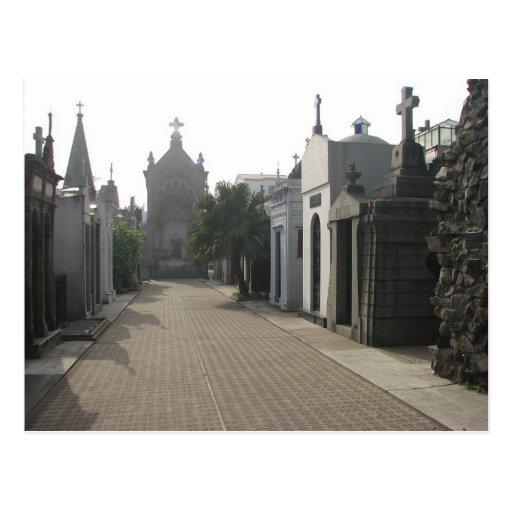 Recoleta Cemetery, Buenos Aires, Argentina Postcards