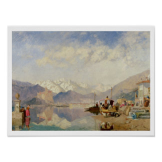Recollections of the Lago Maggiore, Market Day at Poster