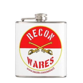 Recon Wares Logo Vinyl Flask (8 oz)