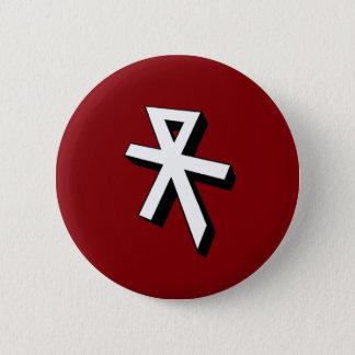 Reconquista mono gram 6 cm round badge