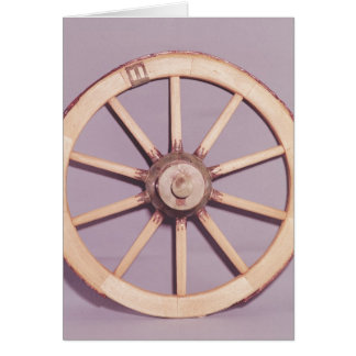 Reconstruction of a wheel card