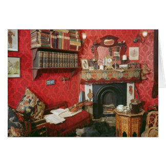 Reconstruction of Sherlock Holmes's Room Card