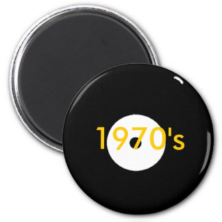 record, 1970's magnet