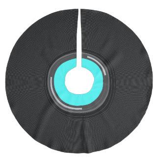 Record Album Brushed Polyester Tree Skirt