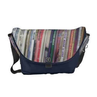 record bag courier bag