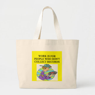 RECORD collector Jumbo Tote Bag