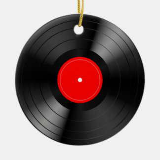 Record_LP Ceramic Ornament
