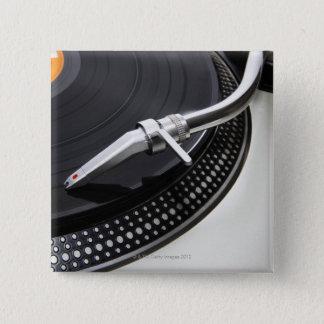 Record Needle Stylus 15 Cm Square Badge