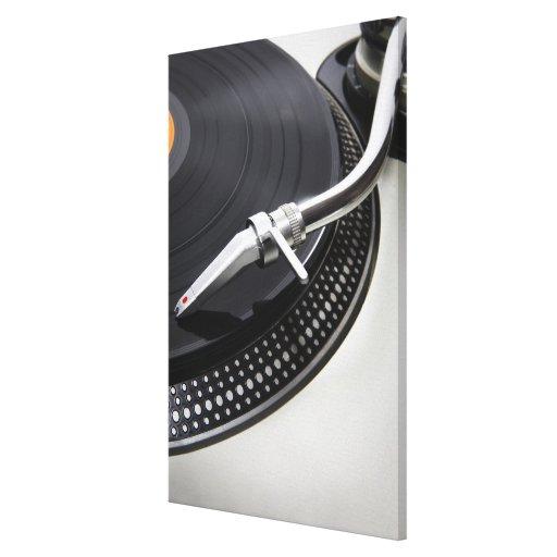 Record Needle Stylus Gallery Wrap Canvas