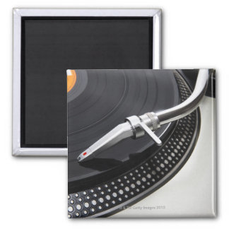 Record Needle Stylus Square Magnet
