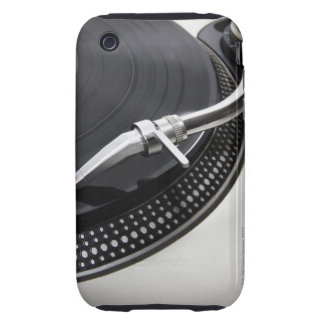 Record Needle Stylus Tough iPhone 3 Case