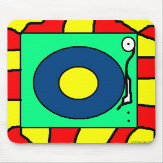 Record Player Mouse Pad