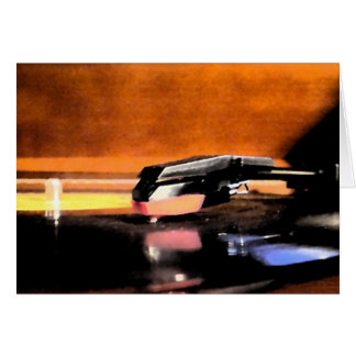 Record Player notecard
