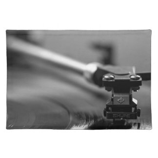 Record Player Placemat