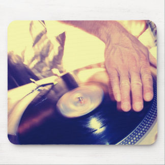Record Player Rap Hip hop Music  Mouse Pad