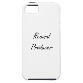 Record Producer Artistic Job Design iPhone 5 Covers