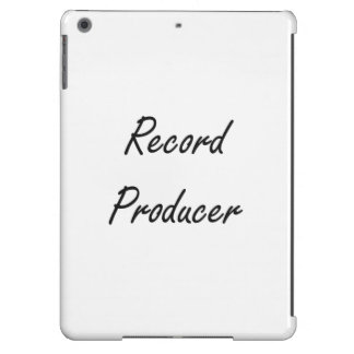 Record Producer Artistic Job Design Cover For iPad Air