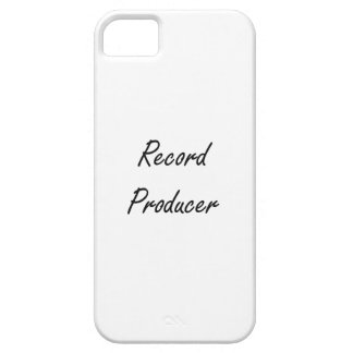 Record Producer Artistic Job Design iPhone 5 Cover