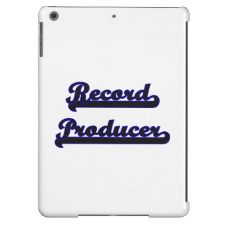 Record Producer Classic Job Design Cover For iPad Air