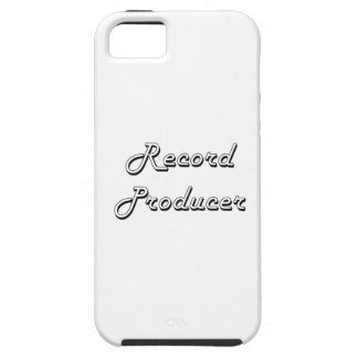 Record Producer Classic Job Design Case For The iPhone 5