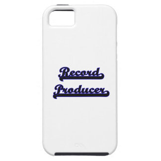 Record Producer Classic Job Design iPhone 5 Cases