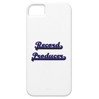 Record Producer Classic Job Design iPhone 5 Covers