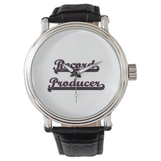 Record Producer Classic Job Design Watches