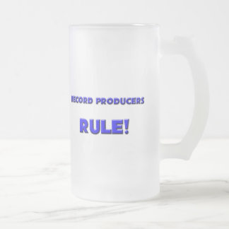 Record Producers Rule! Mugs