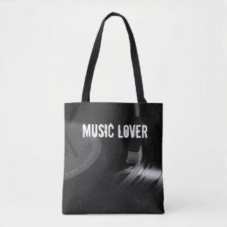 Record Tote: Customizable Tote Bag