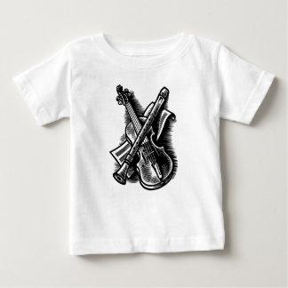 recorder and violin baby T-Shirt