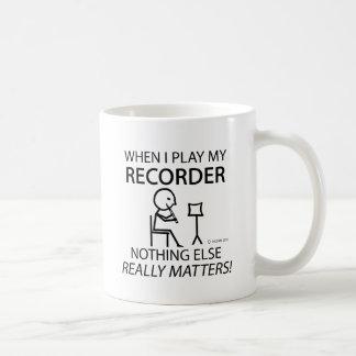 Recorder Nothing Else Matters Mug
