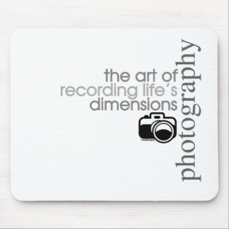 Recording Life s Dimensions Mousepad