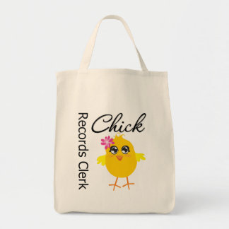 Records Clerk Chick Bags