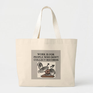 RECORDS collector Jumbo Tote Bag