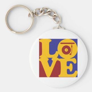 Records Love Key Ring