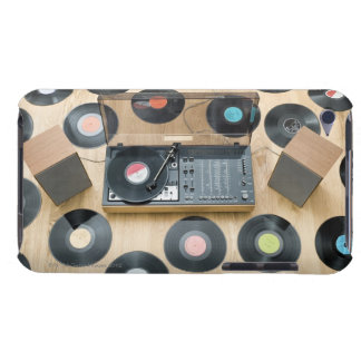 Records on Floor 2 iPod Touch Cases