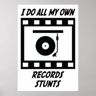 Records Stunts Poster