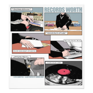 Records Worth Photo Print